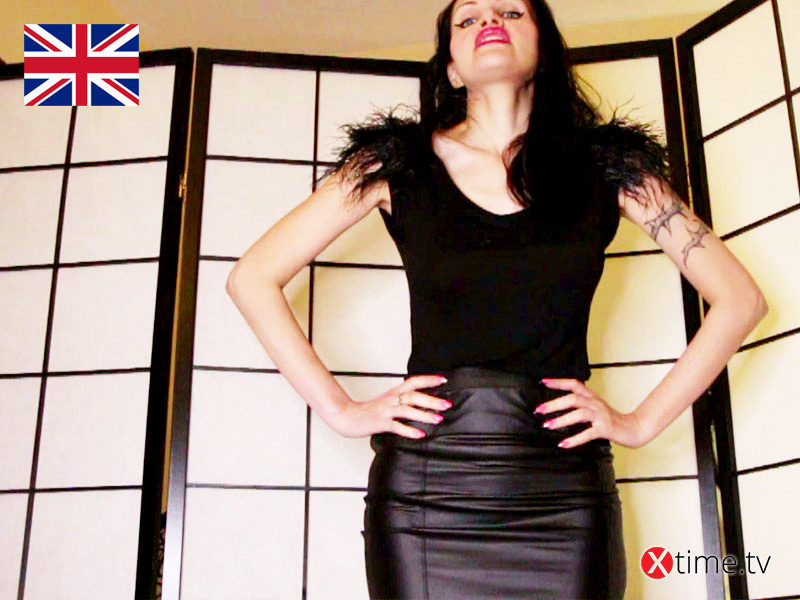 The Diva and the Divine Leather Skirt